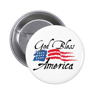 GodBlessAmerica_v2 Pin