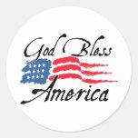 GodBlessAmerica_v2 Sticker