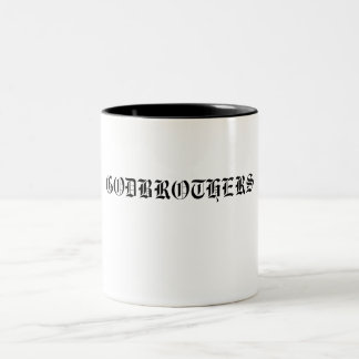 GODBROTHERS ! Two-Tone COFFEE MUG