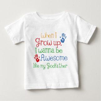 Godchild Gift Awesome Godfather Tee Shirts