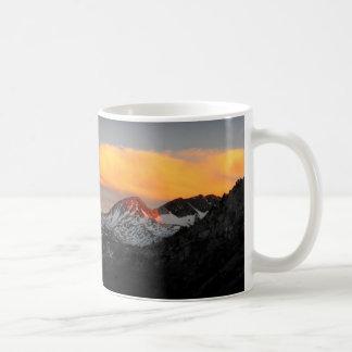 Goddard Divide Alpenglow - John Muir Trail Coffee Mug