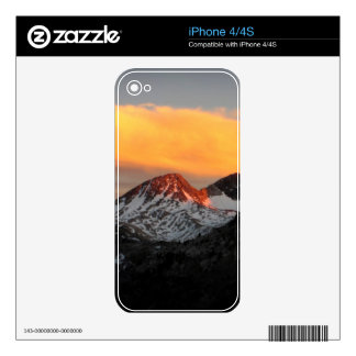 Goddard Divide Alpenglow - John Muir Trail Skin For The iPhone 4S