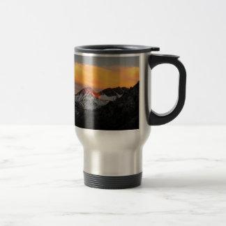 Goddard Divide Alpenglow - John Muir Trail Travel Mug