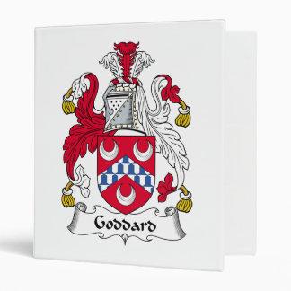 Goddard Family Crest 3 Ring Binder
