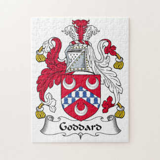 Goddard Family Crest Jigsaw Puzzle