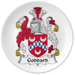 Goddard Family Crest Porcelain Plate