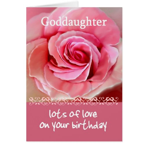 Birthday Quotes Goddaughter: Birthday Quotes For Goddaughter. QuotesGram