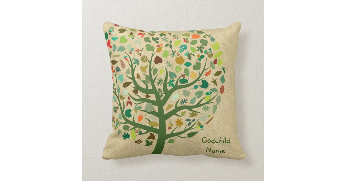 Daughter Son Child Gift Tree Of Life Throw Pillow Zazzle