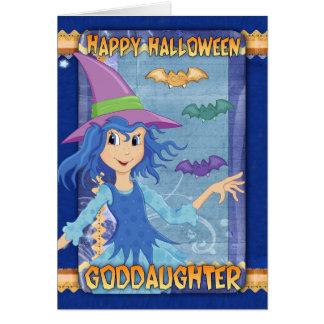 goddaughter halloween greeting card