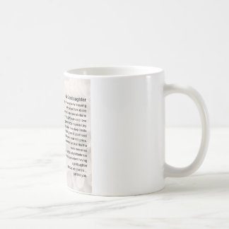 Goddaughter Poem - Bible & Flowers Design Coffee Mug