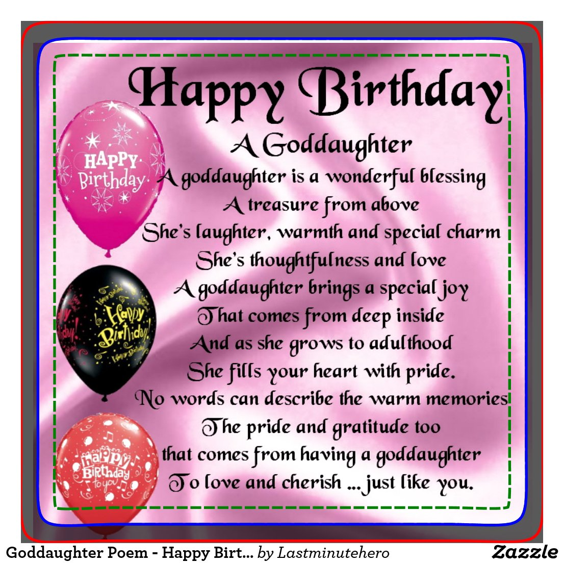 God Daughter Quotes Happy Birthday Wishes For My Goddaughter