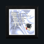 """Goddaughter Poem  Keepsake Box  -  Graduation<br><div class=""""desc"""">A great gift for a special goddaughter on the occasion of her graduation</div>"""