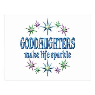 Goddaughters Sparkle Postcards