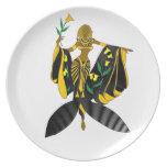 Goddess Amore' Decorative Plate
