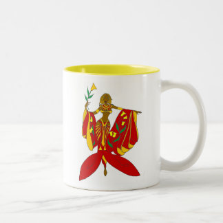 GODDESS AMORE'-Red Two-Tone Coffee Mug