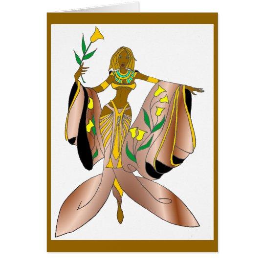 GODDESS AMORE' (SATIN) CARD