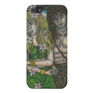 Goddess and the Horned God Case For iPhone SE/5/5s