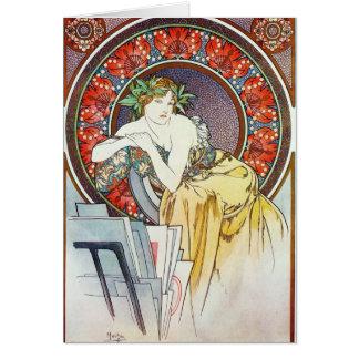 Goddess Artwork Card
