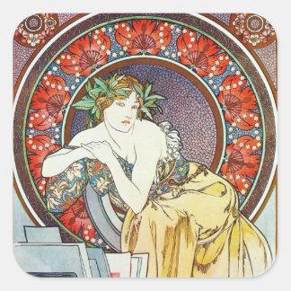 Goddess Artwork Square Sticker