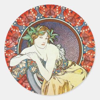 Goddess Artwork Stickers