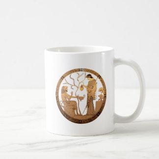 Goddess Athena and Heracles Classic White Coffee Mug