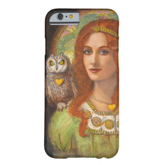 Goddess Athena and Owl iPhone 6 Case