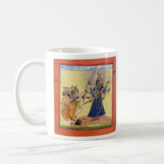Goddess Bhadrakali Worshipped by the Gods 1675 Coffee Mug