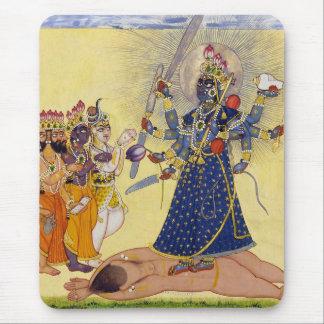 Goddess Bhadrakali Worshipped by the Gods 1675 Mouse Pad