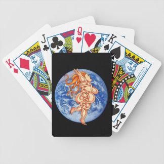 Goddess Bicycle Playing Cards