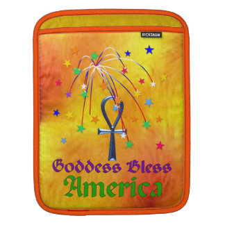 Goddess Bless America MacBook Air Sleeve