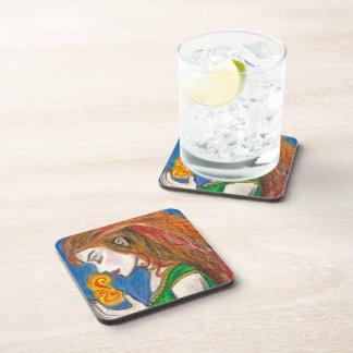 Goddess Brigid Beverage Coaster