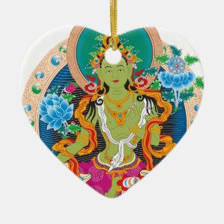 Goddess Ceramic Ornament