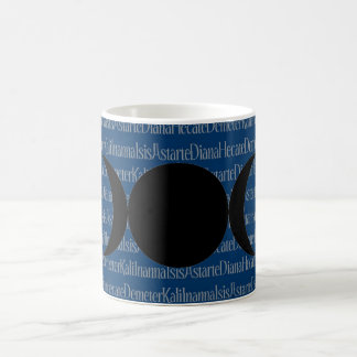 Goddess Chant (blue) Coffee Mug