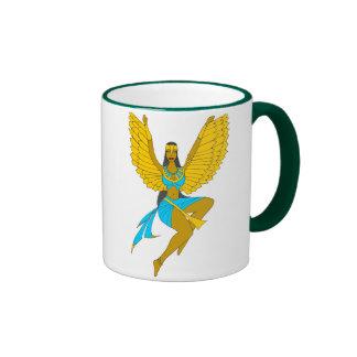 GODDESS COMBO (Isis & Amore') Ringer Coffee Mug