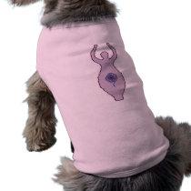 Goddess Cross Stitch Pattern Doggie Shirt