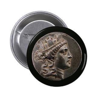 Goddess Cybele Tetradrachm Buttons