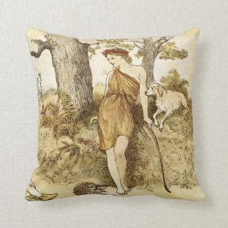 Goddess Diana Throw Pillow