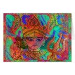Goddess Durga2 Card
