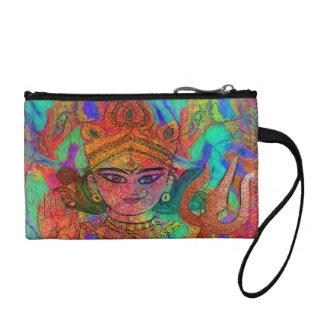 Goddess Durga 2 Coin Bagettes Bag
