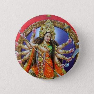 Goddess Durga Button