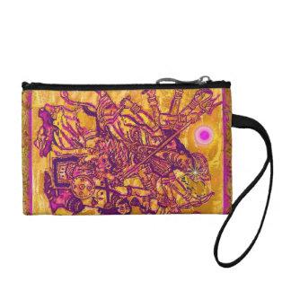 Goddess Durga Coin Bagettes Bag