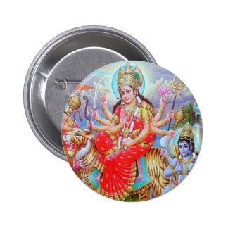 Goddess Durga Ji Button