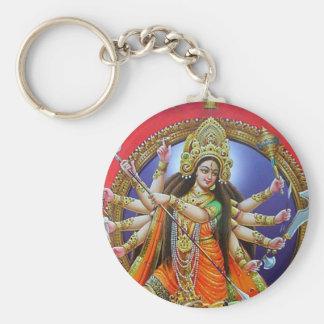 Goddess Durga Keychain