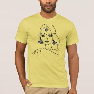 Goddess face sketch T-Shirt