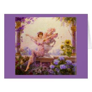 Goddess Flora 1913 Card