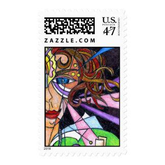 Goddess Girl:  Camela Camera Eye Stamp