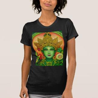 Goddess Green Tara's Face T-Shirt