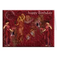 goddess, happy Birthday Cards