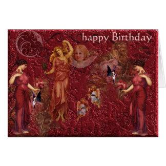 goddess, happy Birthday Greeting Card