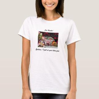 Goddess, I Fall At Your Lotus Feet T-Shirt